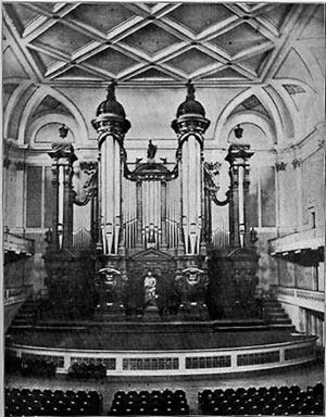 Music Hall Organ