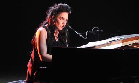 Diamanda Galas performs on the opening night of Antony's Meltdown at the Royal Festival Hall