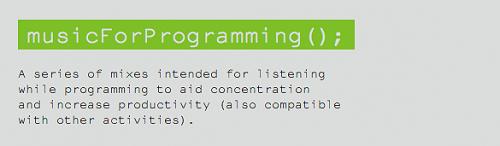 musicforprogramming