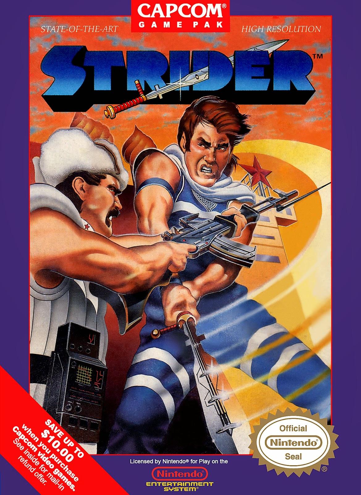 Strider cover