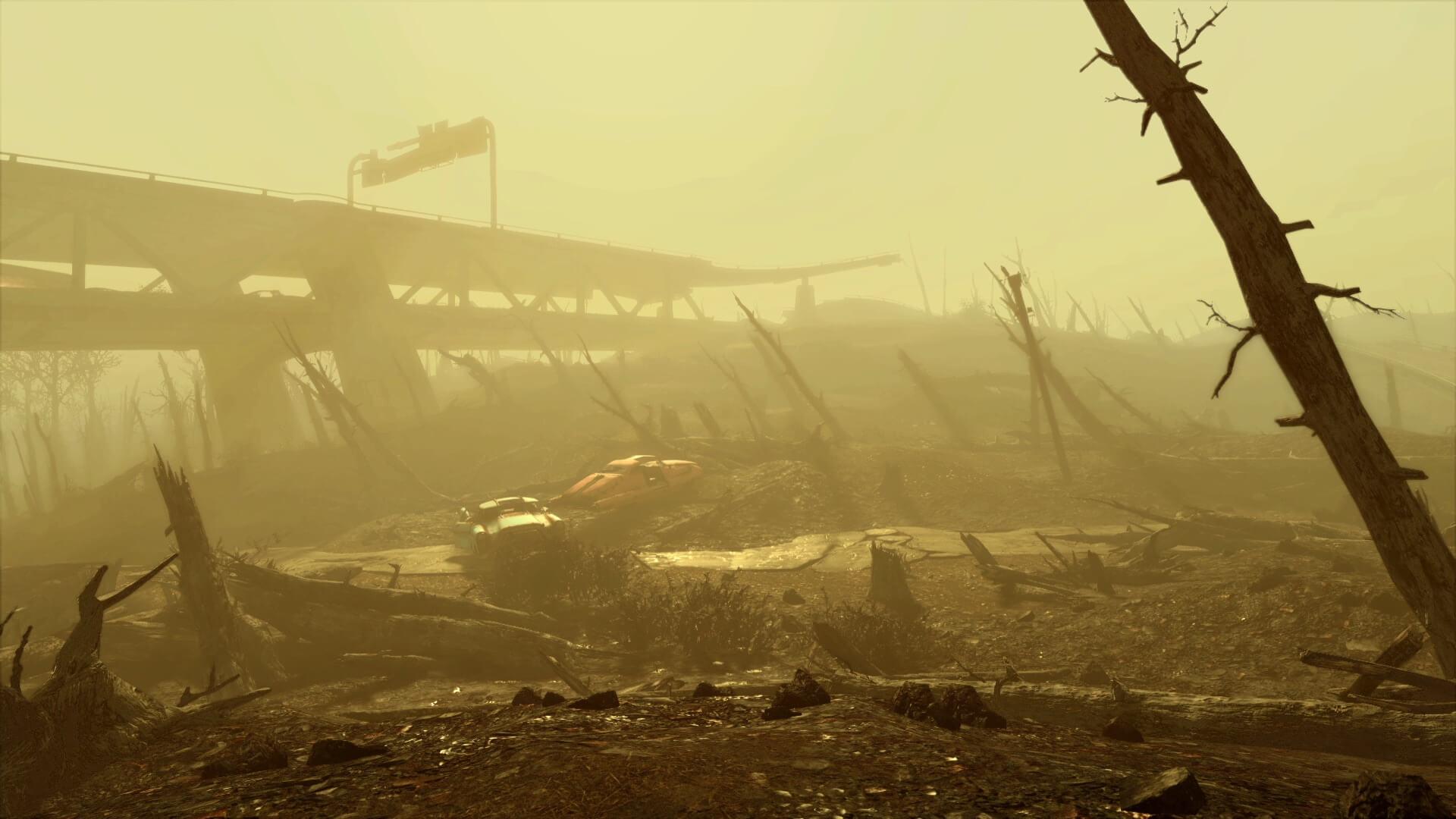 Fallout-4-Boston-Wasteland-Freeway