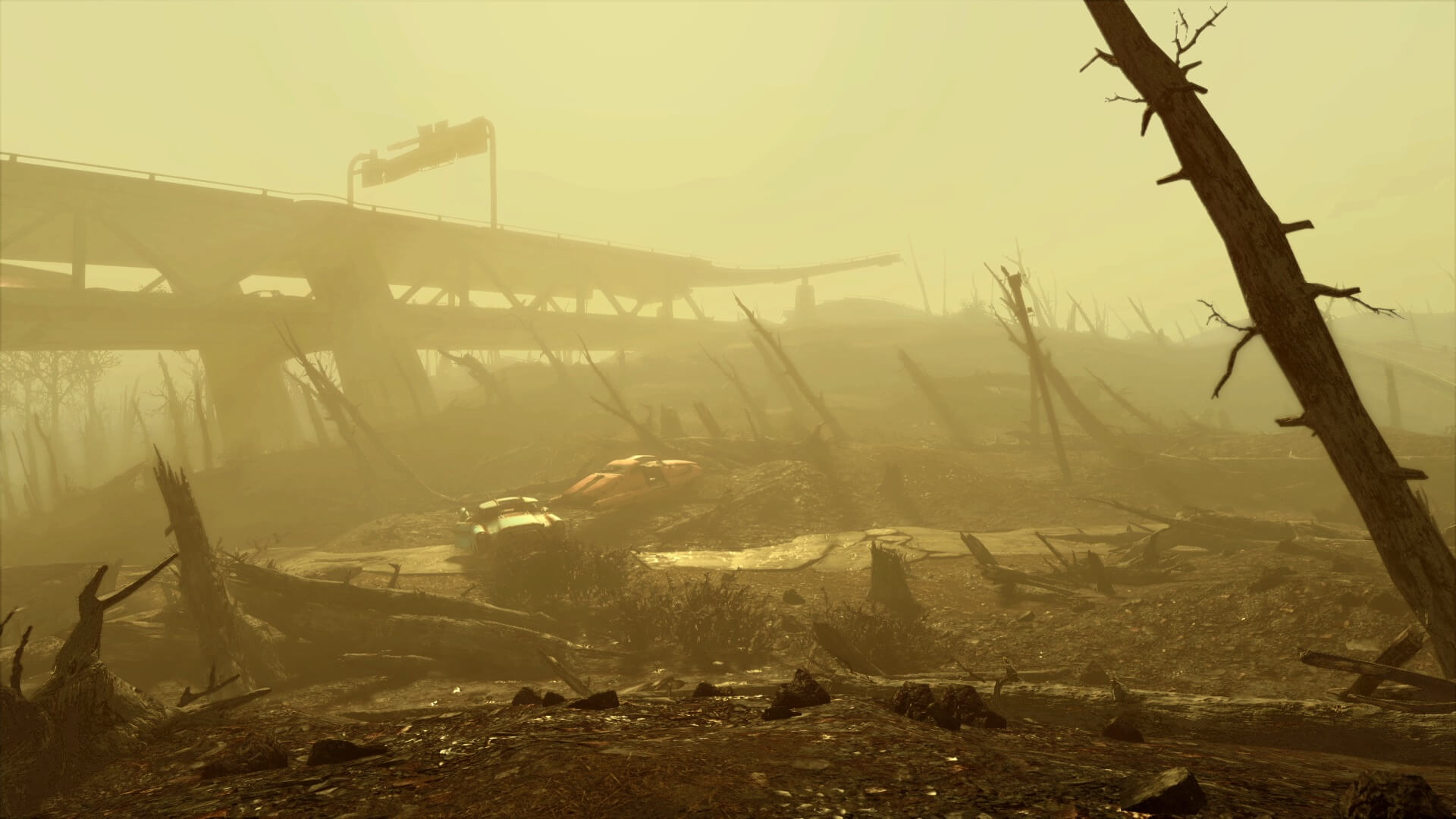 Fallout-4-Boston-Wasteland-Freeway